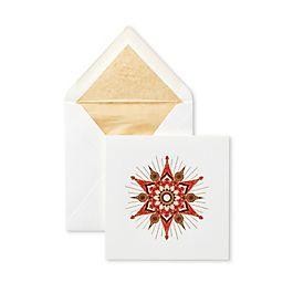 Weihnachtskarten mit Sternmotiv