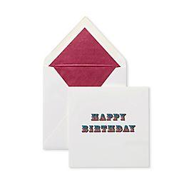 Circus Birthday Card