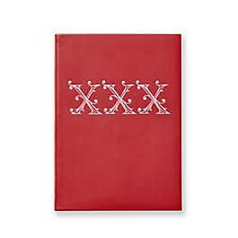 XXX Soho Notizbuch aus Leder