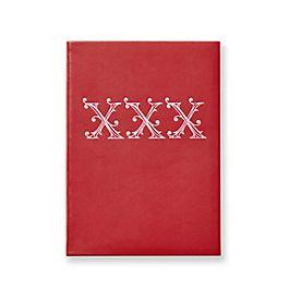 Leather XXX Soho Notebook