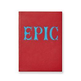 "Quaderno Soho ""Epic"" in pelle"