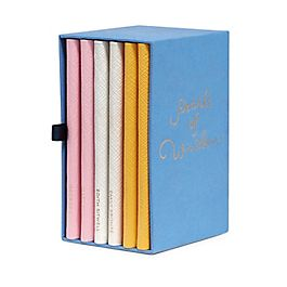 Leather Pearls Of Wisdom Notebook Set