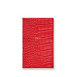 Leather 2019 Panama Diary with Pocket