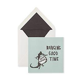 Carte d'anniversaire Banging Good Time