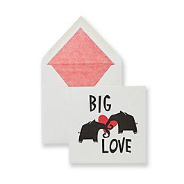 Big Love Valentine's Card