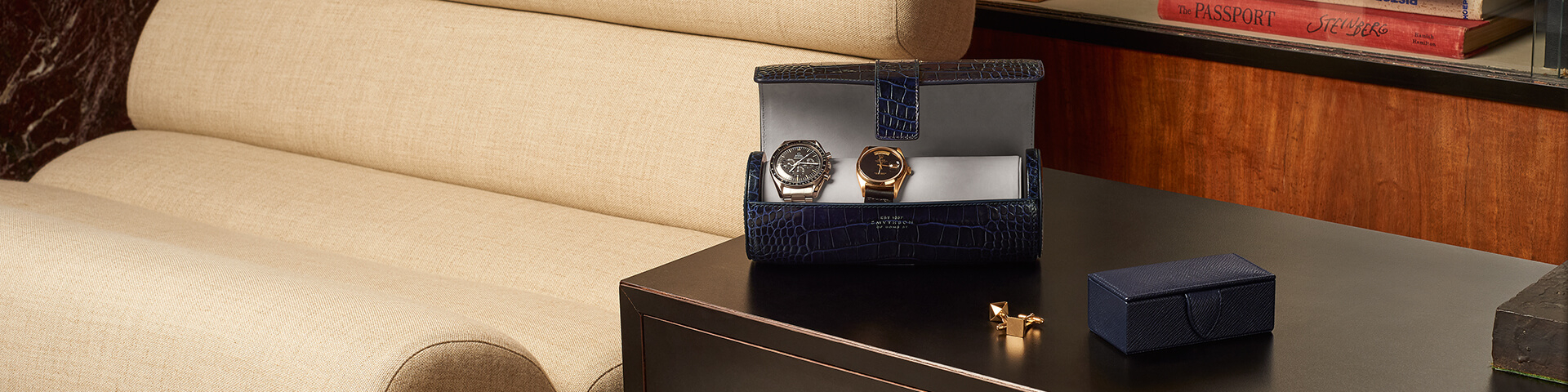 Cufflink and Watch Boxes