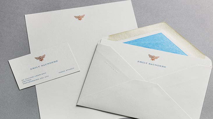Discover personalised stationery